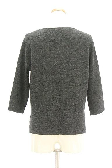 NATURAL BEAUTY(ナチュラルビューティ)の古着「ロングヘムウールトップス(ニット)」大画像2へ