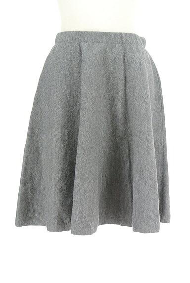 NATURAL BEAUTY(ナチュラルビューティ)の古着「無地ニットスカート(スカート)」大画像1へ