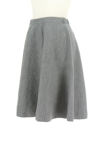 NATURAL BEAUTY(ナチュラルビューティ)の古着「無地ニットスカート(スカート)」大画像3へ