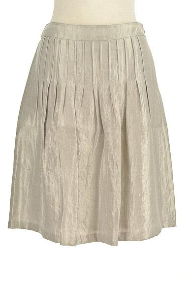 NATURAL BEAUTY(ナチュラルビューティ)の古着「シャイニータックスカート(スカート)」大画像1へ