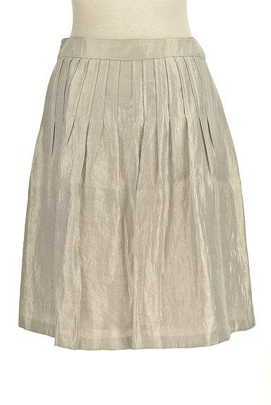 NATURAL BEAUTY(ナチュラルビューティ)の古着「シャイニータックスカート(スカート)」大画像2へ