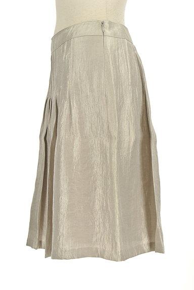 NATURAL BEAUTY(ナチュラルビューティ)の古着「シャイニータックスカート(スカート)」大画像3へ
