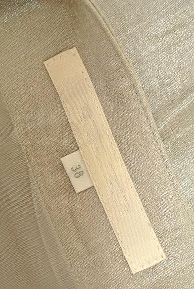 NATURAL BEAUTY(ナチュラルビューティ)の古着「シャイニータックスカート(スカート)」大画像6へ