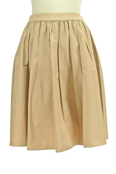 NATURAL BEAUTY(ナチュラルビューティ)の古着「ライトボリュームタックスカート(ミニスカート)」大画像1へ