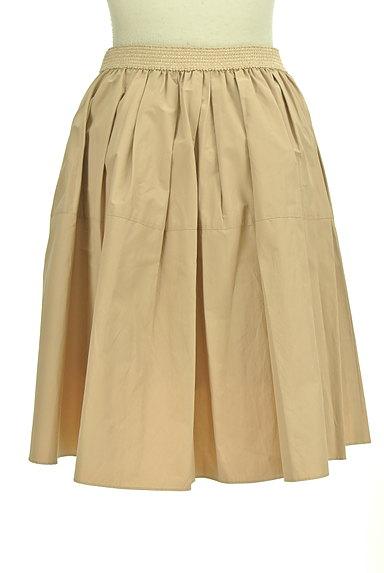 NATURAL BEAUTY(ナチュラルビューティ)の古着「ライトボリュームタックスカート(ミニスカート)」大画像2へ