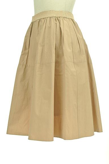 NATURAL BEAUTY(ナチュラルビューティ)の古着「ライトボリュームタックスカート(ミニスカート)」大画像3へ