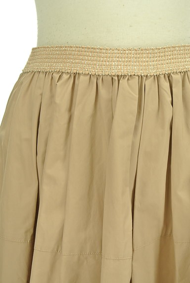 NATURAL BEAUTY(ナチュラルビューティ)の古着「ライトボリュームタックスカート(ミニスカート)」大画像4へ