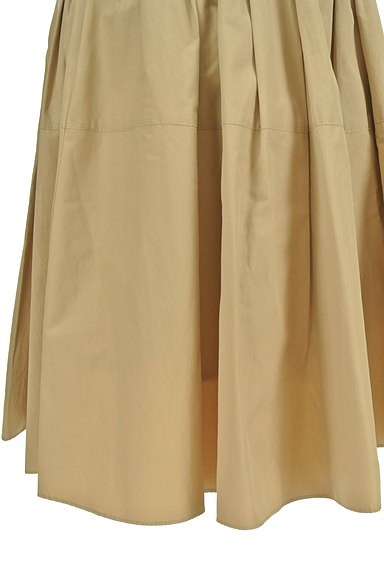 NATURAL BEAUTY(ナチュラルビューティ)の古着「ライトボリュームタックスカート(ミニスカート)」大画像5へ
