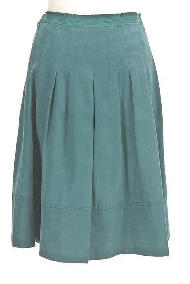 NATURAL BEAUTY(ナチュラルビューティ)の古着「スエード調タックフレアスカート(スカート)」大画像2へ