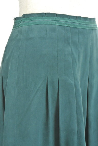 NATURAL BEAUTY(ナチュラルビューティ)の古着「スエード調タックフレアスカート(スカート)」大画像4へ
