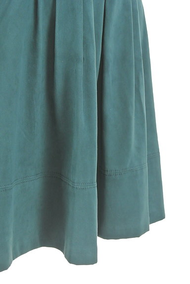 NATURAL BEAUTY(ナチュラルビューティ)の古着「スエード調タックフレアスカート(スカート)」大画像5へ
