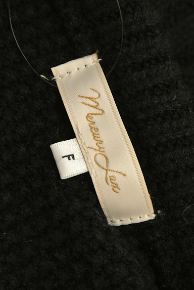 MERCURYDUO(マーキュリーデュオ)の古着「ショート丈サイドスリットニット(ニット)」大画像6へ