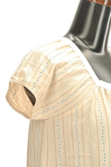 NIMES(ニーム)の古着「スクエアネックブラウス(カットソー・プルオーバー)」大画像4へ