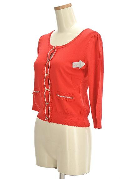 LODISPOTTO(ロディスポット)の古着「ガーリー装飾カーディガン(カーディガン・ボレロ)」大画像4へ