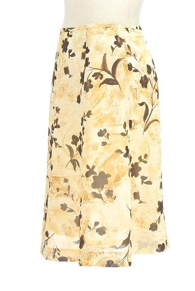 NICOLE(ニコル)の古着「膝下丈花柄フレアスカート(スカート)」大画像3へ