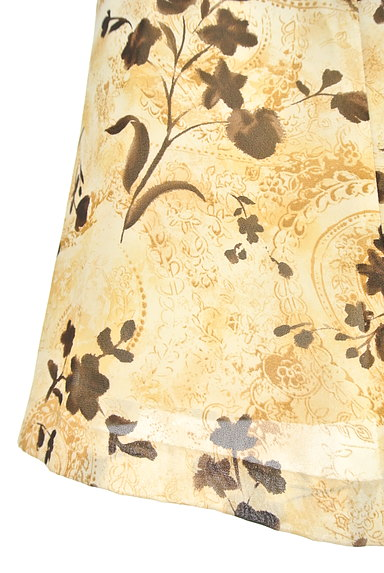NICOLE(ニコル)の古着「膝下丈花柄フレアスカート(スカート)」大画像5へ