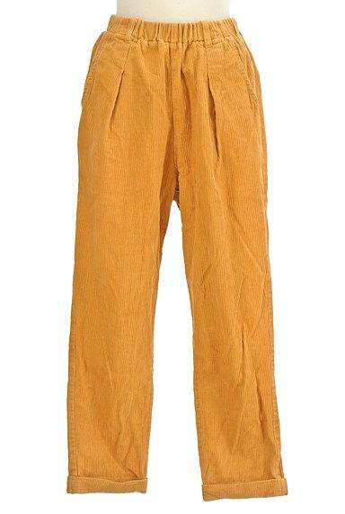 POU DOU DOU(プードゥドゥ)の古着「鳥ポケットコーデュロイパンツ(パンツ)」大画像1へ