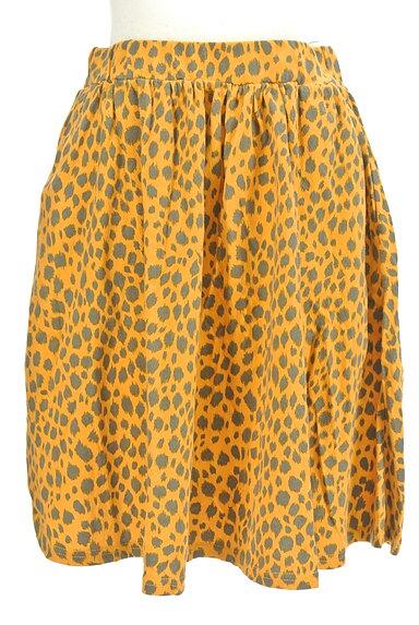 SLY(スライ)の古着「レオパード柄膝丈スカート(スカート)」大画像1へ