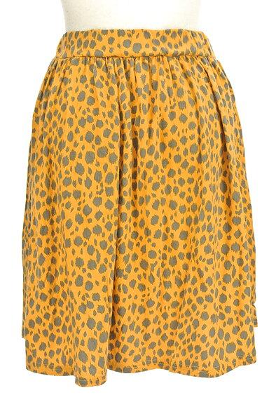 SLY(スライ)の古着「レオパード柄膝丈スカート(スカート)」大画像2へ