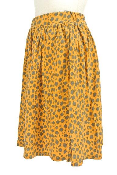 SLY(スライ)の古着「レオパード柄膝丈スカート(スカート)」大画像3へ