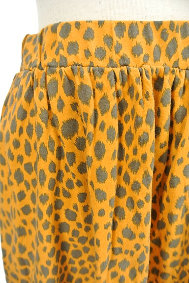 SLY(スライ)の古着「レオパード柄膝丈スカート(スカート)」大画像4へ