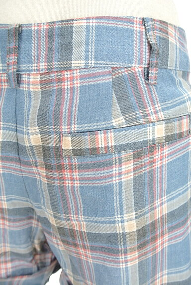 JILLSTUART(ジルスチュアート)の古着「チェック柄キュロットパンツ(ショートパンツ・ハーフパンツ)」大画像5へ