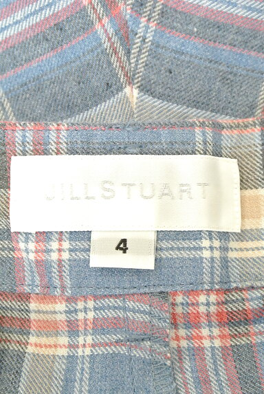 JILLSTUART(ジルスチュアート)の古着「チェック柄キュロットパンツ(ショートパンツ・ハーフパンツ)」大画像6へ