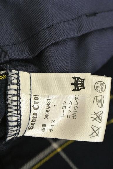 RODEO CROWNS(ロデオクラウン)の古着「チェック柄ストレートパンツ(パンツ)」大画像6へ