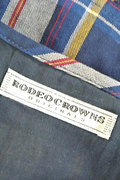 RODEO CROWNS(ロデオクラウン)の古着「チェック柄ペプラムキャミソール(キャミソール・タンクトップ)」大画像6へ
