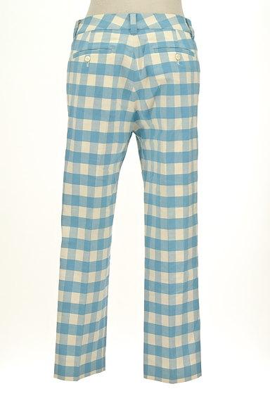 TOMORROWLAND(トゥモローランド)の古着「ギンガムチェックカラーパンツ(パンツ)」大画像2へ