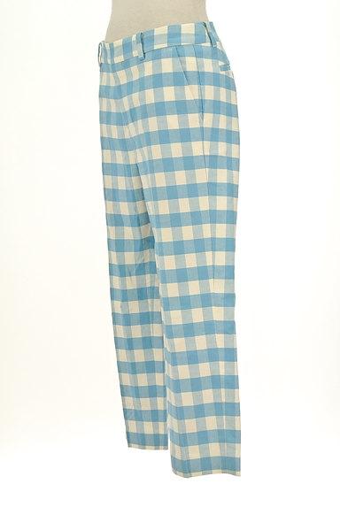 TOMORROWLAND(トゥモローランド)の古着「ギンガムチェックカラーパンツ(パンツ)」大画像3へ