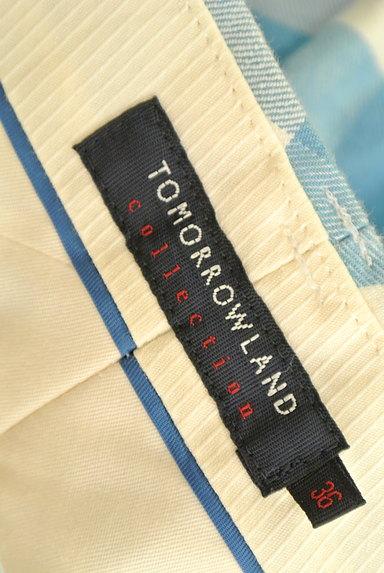 TOMORROWLAND(トゥモローランド)の古着「ギンガムチェックカラーパンツ(パンツ)」大画像6へ