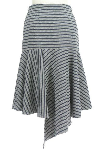 OKIRAKU(オキラク)の古着「変形ヘム切替フレアスカート(スカート)」大画像2へ