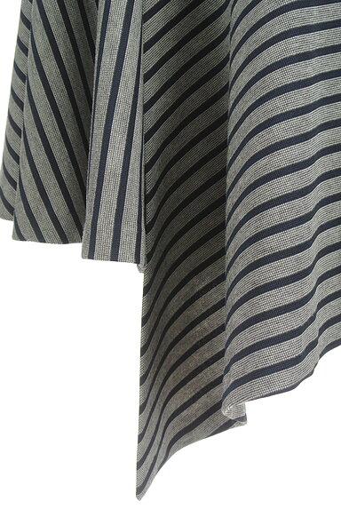 OKIRAKU(オキラク)の古着「変形ヘム切替フレアスカート(スカート)」大画像5へ