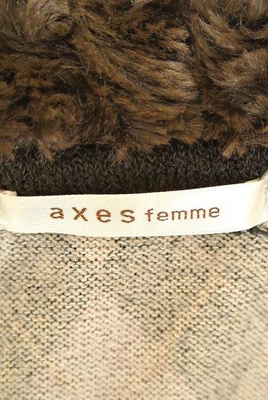 axes femme(アクシーズファム)レディース ニット PR10226671大画像6へ