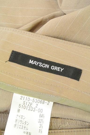 MAYSON GREY(メイソングレイ)の古着「セミフレア美ラインパンツ(パンツ)」大画像6へ