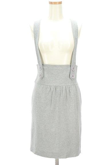 MAYSON GREY(メイソングレイ)の古着「サロペットタイトスカート(オーバーオール・サロペット)」大画像1へ