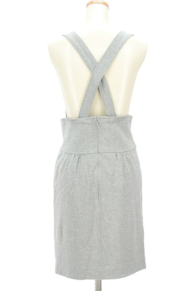 MAYSON GREY(メイソングレイ)の古着「サロペットタイトスカート(オーバーオール・サロペット)」大画像2へ