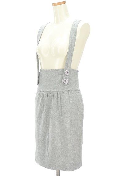 MAYSON GREY(メイソングレイ)の古着「サロペットタイトスカート(オーバーオール・サロペット)」大画像3へ