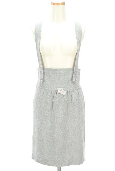 MAYSON GREY(メイソングレイ)の古着「サロペットタイトスカート(オーバーオール・サロペット)」大画像4へ