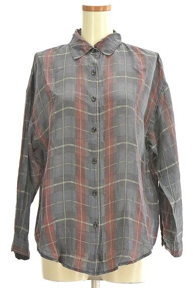 BLACK BY MOUSSY(ブラックバイマウジー)の古着「(カジュアルシャツ)」大画像1へ