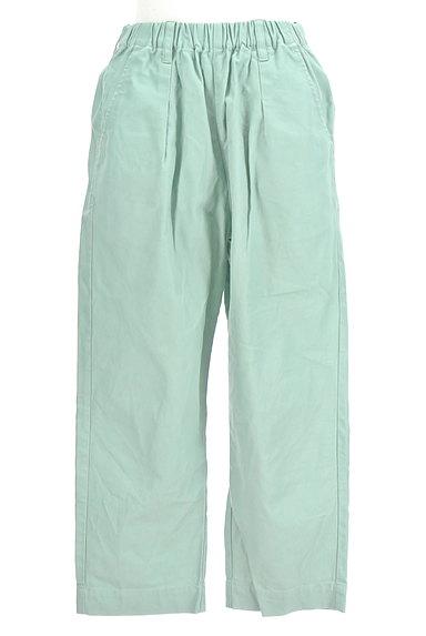 POU DOU DOU(プードゥドゥ)の古着「ミントカラーアンクルラフパンツ(パンツ)」大画像1へ