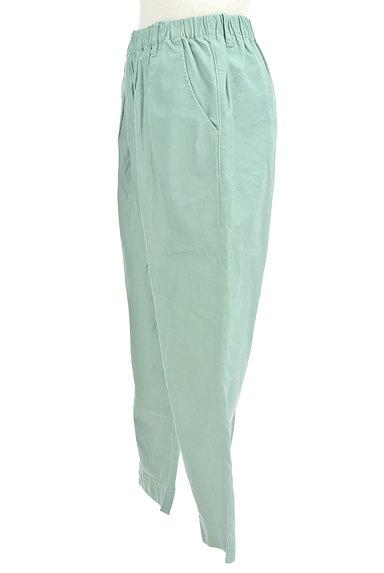 POU DOU DOU(プードゥドゥ)の古着「ミントカラーアンクルラフパンツ(パンツ)」大画像3へ