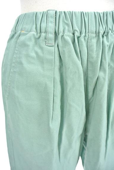 POU DOU DOU(プードゥドゥ)の古着「ミントカラーアンクルラフパンツ(パンツ)」大画像4へ