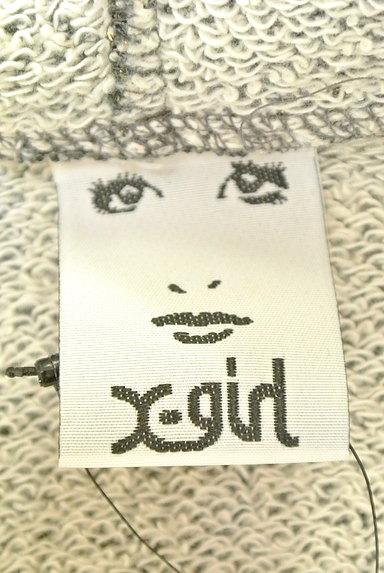 X-girl(エックスガール)レディース スウェット・パーカー PR10226776大画像6へ