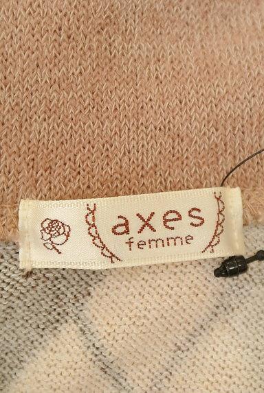 axes femme(アクシーズファム)レディース ニット PR10226793大画像6へ