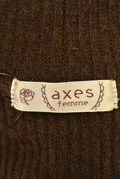 axes femme(アクシーズファム)レディース ニット PR10226795大画像6へ