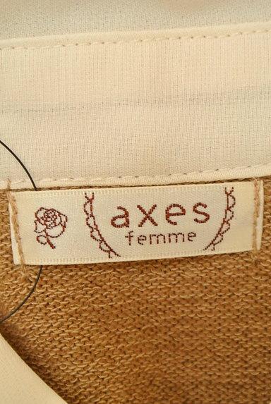 axes femme(アクシーズファム)レディース ニット PR10226797大画像6へ