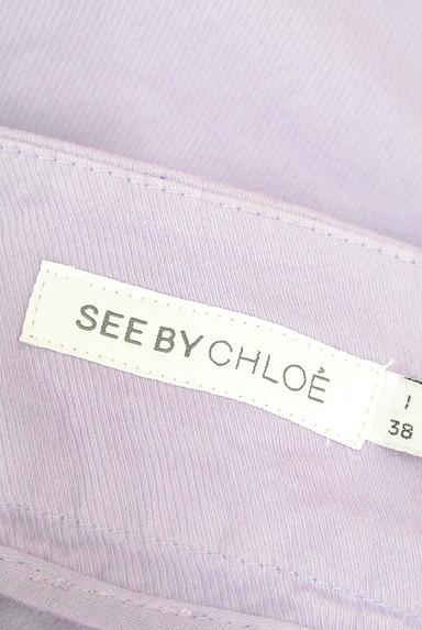 See by Chloe(シーバイクロエ)の古着「ラベンダー台形ミニスカート(ミニスカート)」大画像6へ