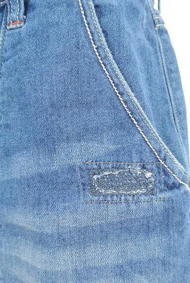 CUBE SUGAR(キューブシュガー)の古着「ダメージショートデニムパンツ(ショートパンツ・ハーフパンツ)」大画像4へ